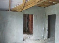 Штукатурные работы в загородном доме-012